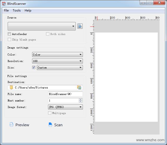 扫描仪共享工具 BlindScanner Pro软件截图