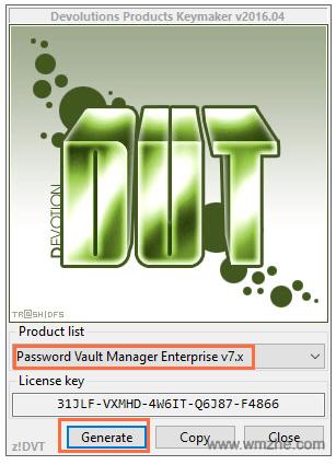密碼管理軟件(Password Vault Manager)軟件截圖