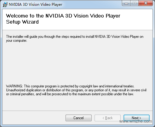 NVIDIA 3D Vision Video Player软件截图