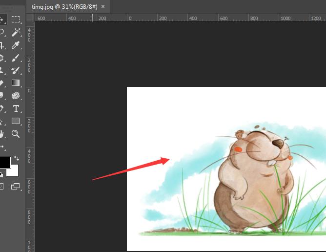 PS修图之转换彩色图片为黑白,两种方法