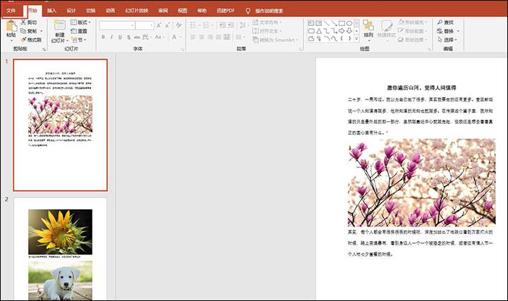 PPT文件压缩方法分享,简单+方便,不影响质量