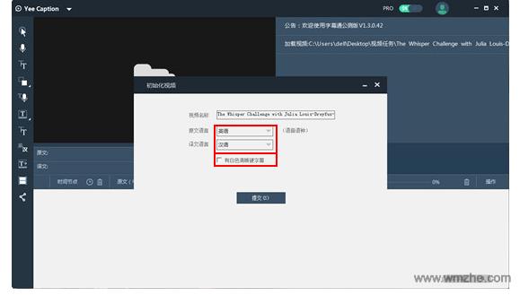 字幕通Yee Caption软件截图