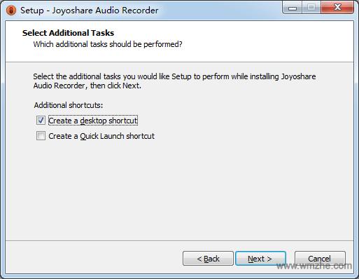 Joyoshare Audio Recorde软件截图