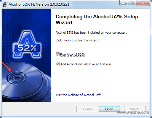 Alcohol 52软件截图