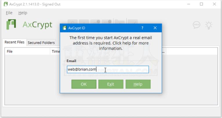 AxCrypt:可以加密任何文件,你只要动动鼠标即可