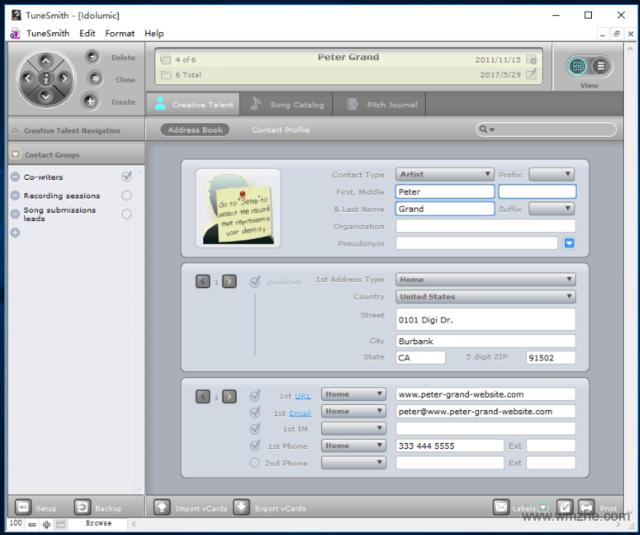 TuneSmith软件截图