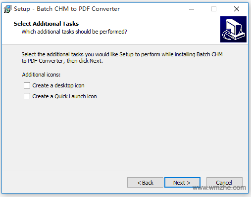 Batch CHM to PDF Converter軟件截圖