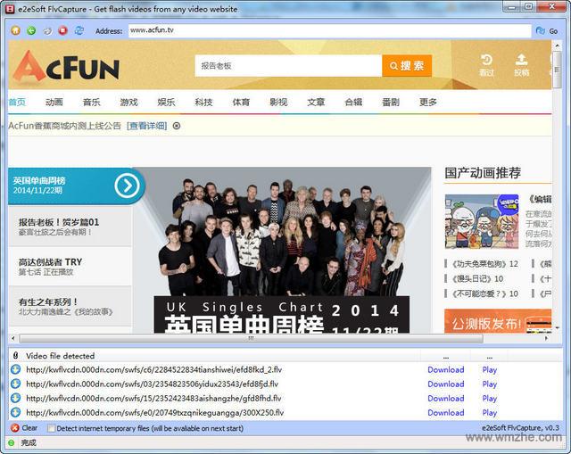 FlvCapture软件截图