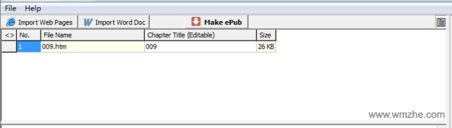ePub Maker软件截图
