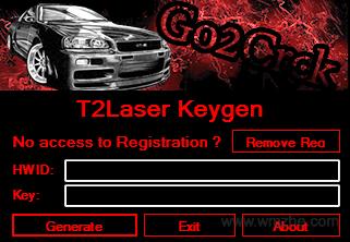 T2Laser軟件截圖