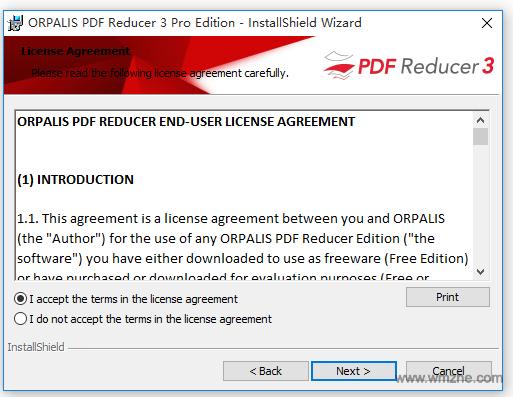 PDF压缩工具 PDF Reducer软件截图