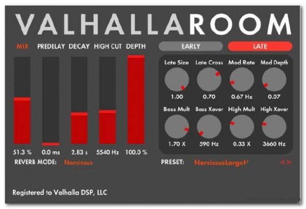 ValhallaRoom软件截图