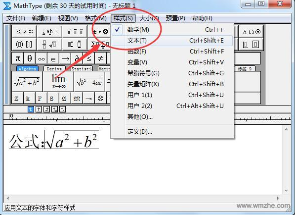MathType数学公式编辑器软件截图