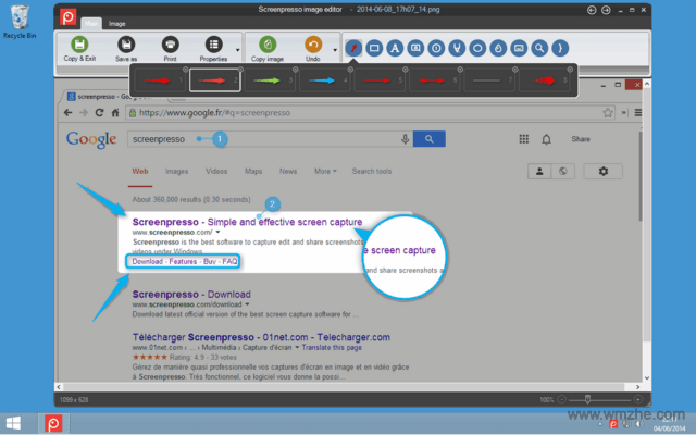 Screenpresso 截图工具软件截图