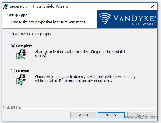 SecureCRT(终端仿真器)软件截图