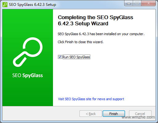 SEO SpyGlass软件截图