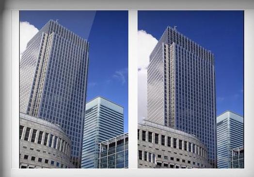 """一分钟""""掰直""""建筑物图片,就找snapseed"""