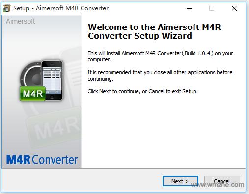 Aimersoft M4R Converter软件截图