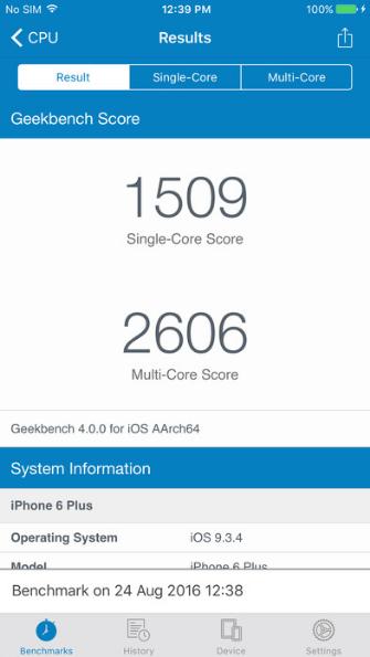 了解设备性能神器,硬件性能基准测试工具—Geekbench 4
