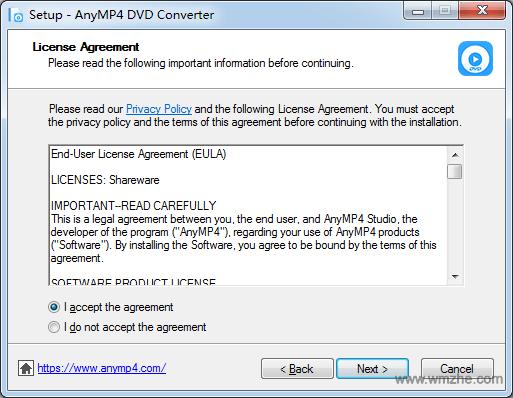 AnyMP4 Audio Converter软件截图