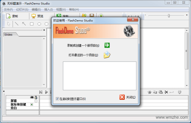 FlashDemo Studio软件截图