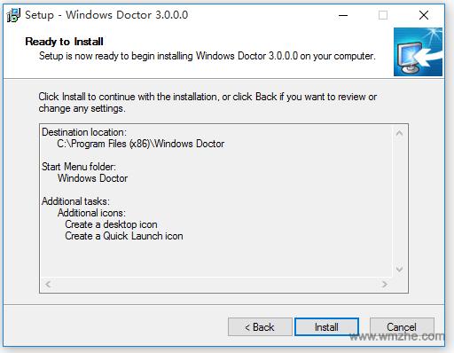 Windows Doctor软件截图