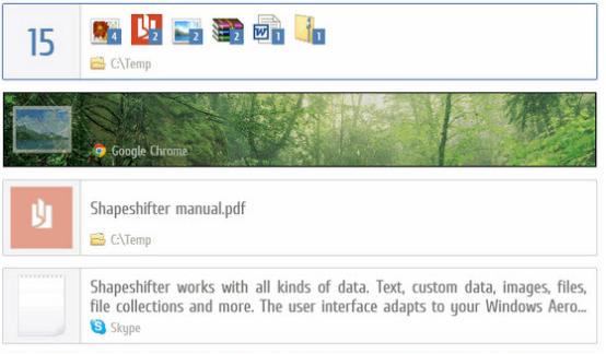 连续复制多个内容并选择粘贴的高效剪贴板增强工具——Shapeshifter