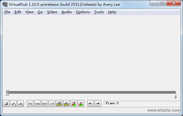 视频剪辑 VirtualDub软件截图