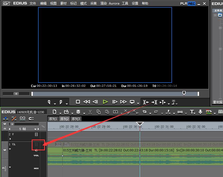 Edius剪辑视频时看不到画面?原因可能是这几种
