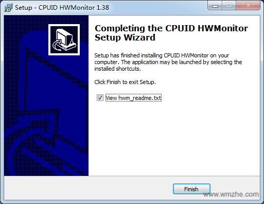 HWMonitor软件截图