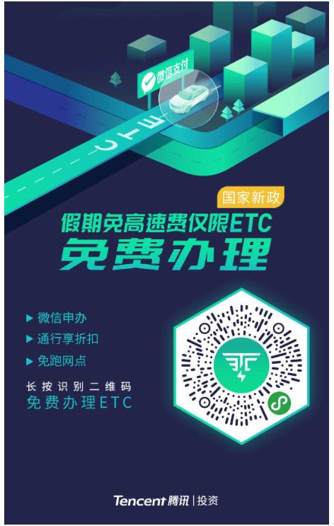微信ETC有优惠吗?当然了,设备免费送