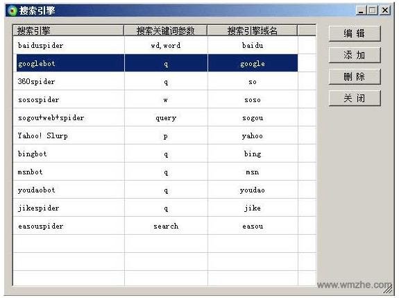 亮析网站日志分析工具软件截图