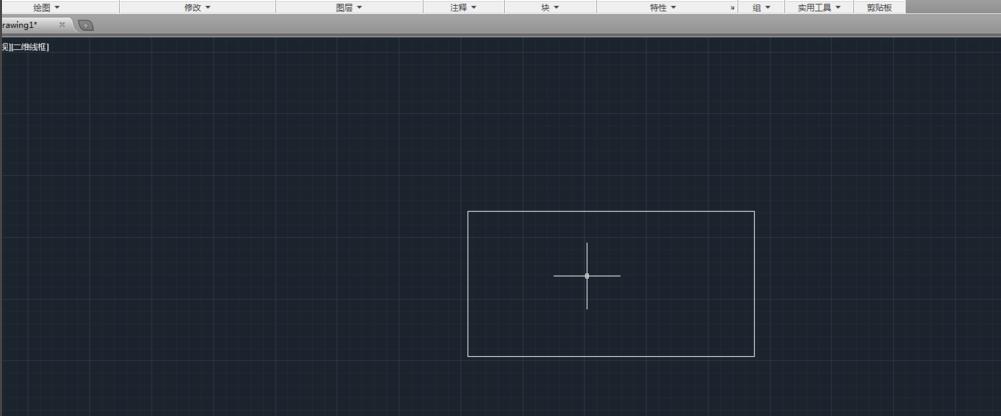将直角变圆角,可用Autocad圆角命令