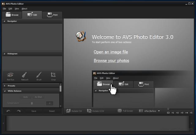 照片处理软件【AVS Photo Editor】软件截图