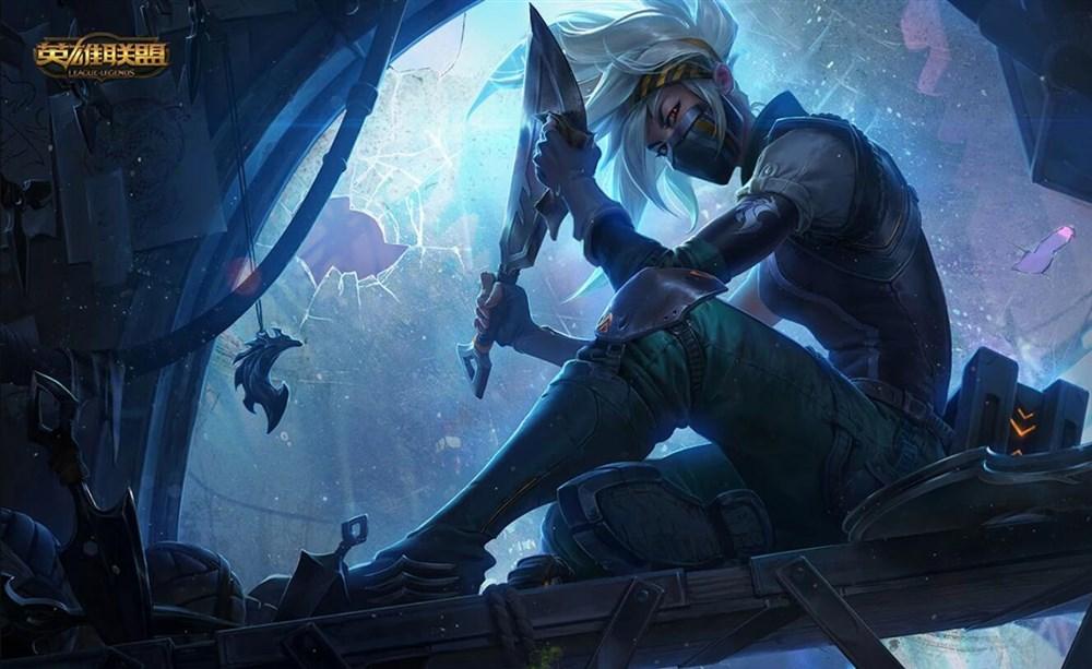 英雄联盟群离之刺阿卡丽重做归来,技能及背景故事介绍