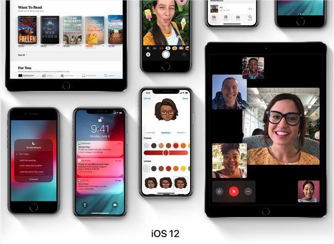 苹果iOS12针对旧款做出优化,老设备也能愉快耍起来