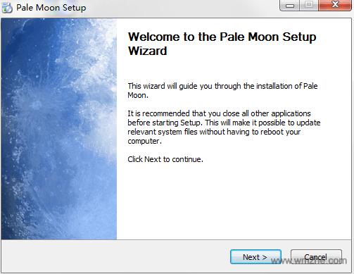 苍月浏览器 PaleMoon 64位软件截图
