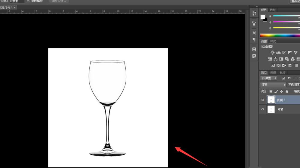 PS蒙版抠图方法演示,尤其适合小白