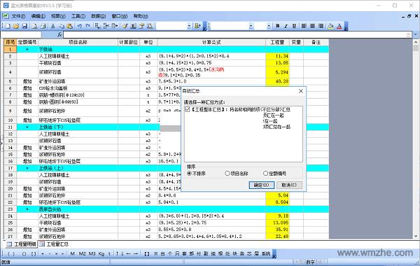 pc蛋蛋试玩app,蓝光表格算量软件软件截图