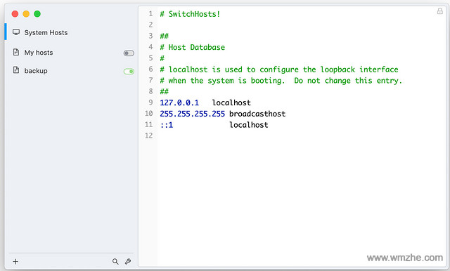 SwitchHosts软件截图