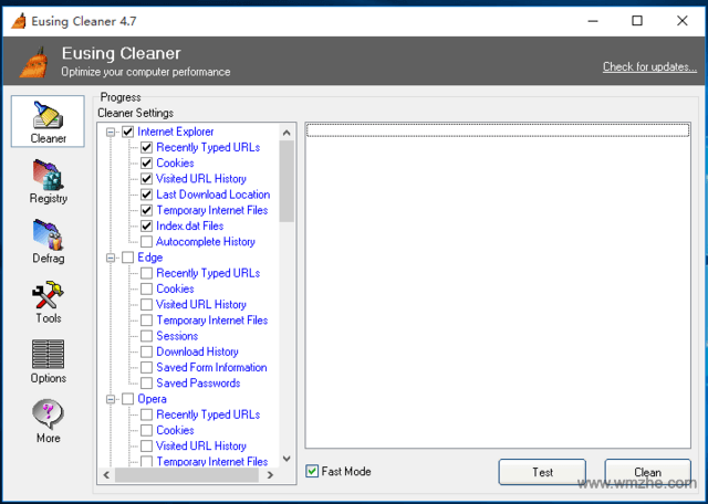 Eusing Cleaner软件截图