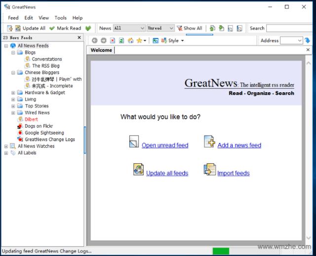 GreatNews软件截图