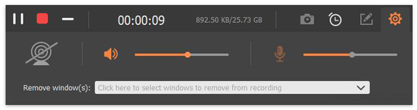 Aiseesoft Screen Recorder軟件截圖