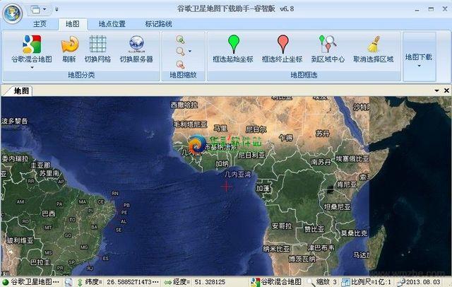 欣思维谷歌地图下载助手软件截图