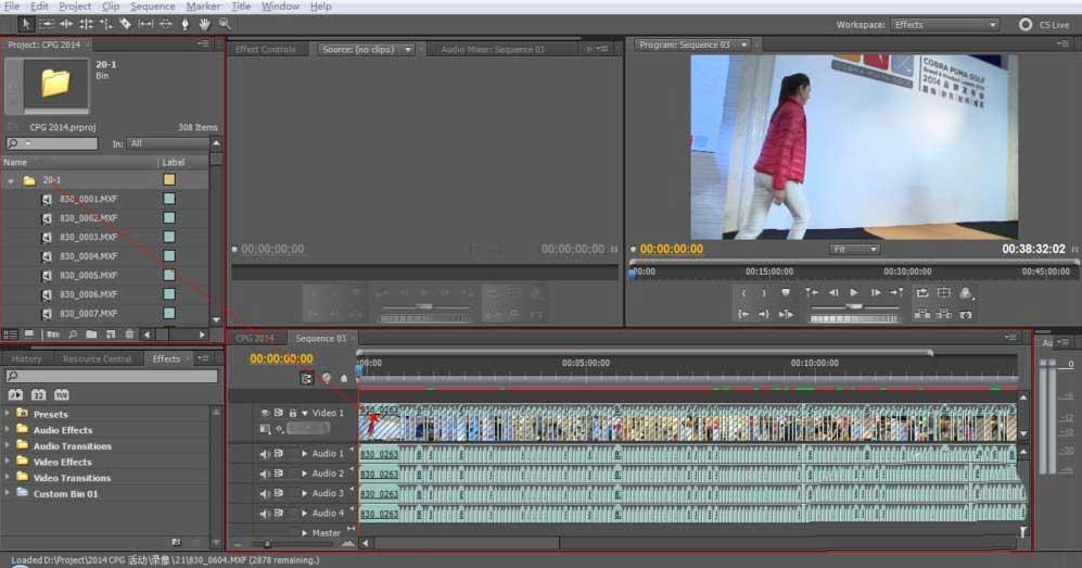 实现视频消声就用Premiere,画面还不受影响