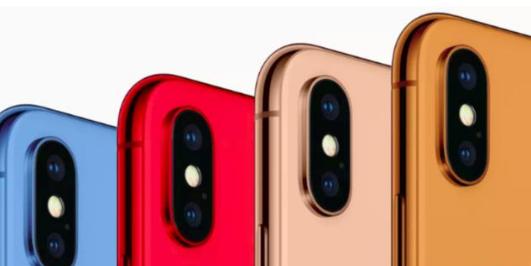 五颜六色的iphone 9你喜欢吗?单从颜色上看还挺不错