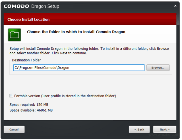 Comodo Dragon軟件截圖