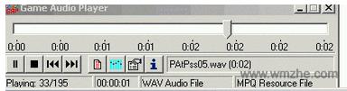 Game audio player软件截图