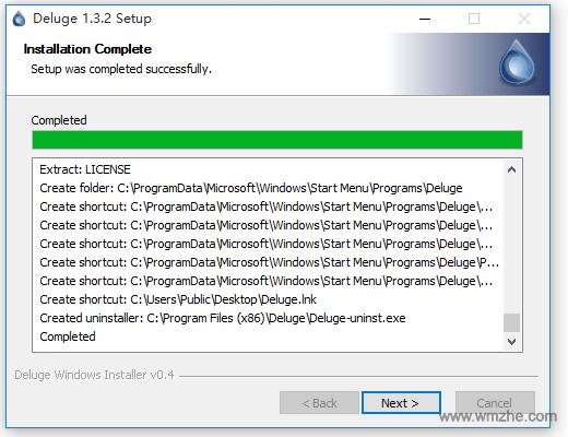 BT下载软件 Deluge软件截图