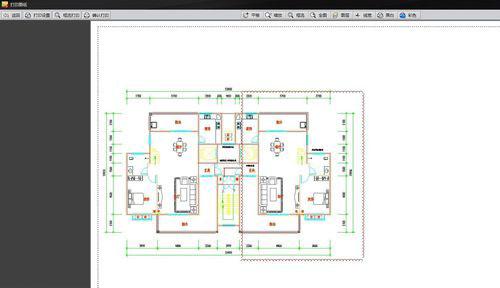 CAD迷你看图软件怎样设置打印范围